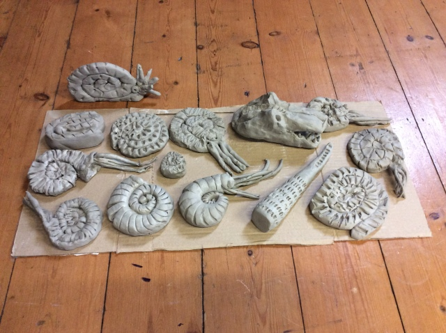 Dino pottery 2