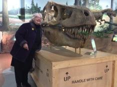 Dino Visit Lesley